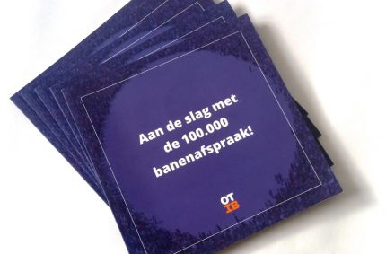 Brochure 100.000 banenafspraak
