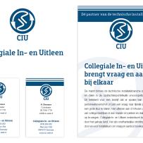 Restylen logo en huisstijl CIU & TTIB